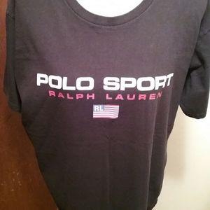 Large Polo Sport tee.